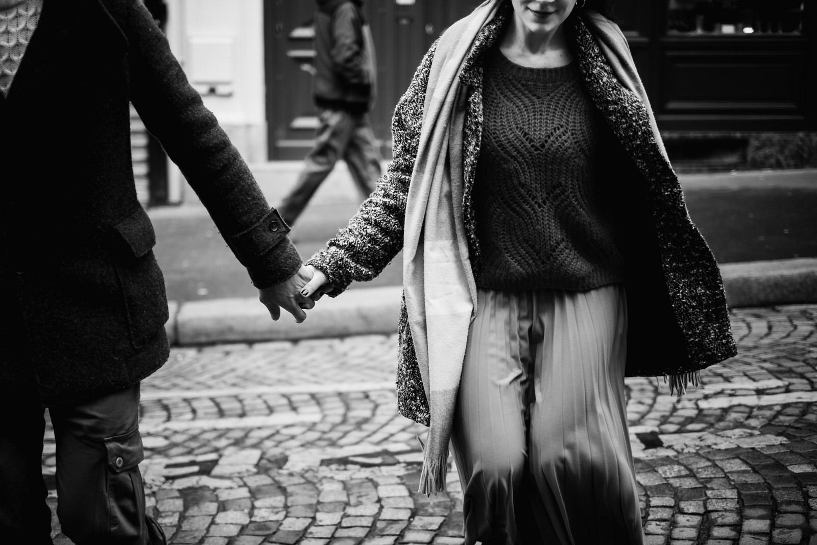 Engagement a Parigi