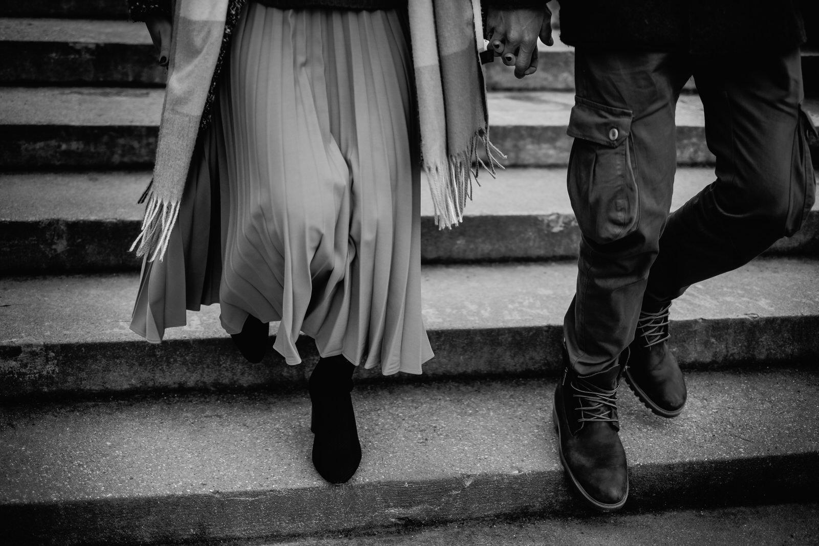 Foto di fidanzamento a Parigi